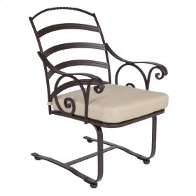 Spring Base dining Arm Chair