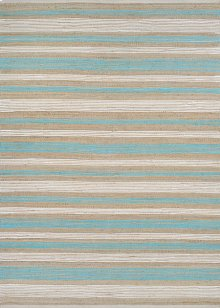 Awning Stripes - Straw-Artic Blue-White 7294/3155