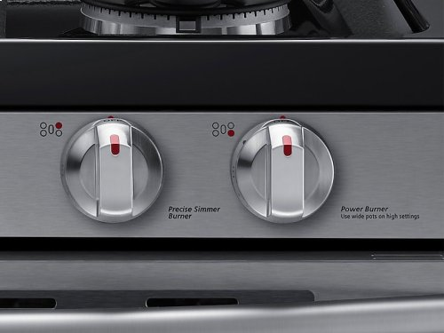 5.8 cu. ft. Flex Duo with Dual Door Freestanding Gas Range