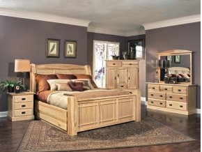 Queen Arch Storage Bed