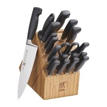 ZWILLING Four Star 20-pc Knife Block Set