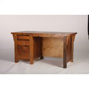 Stony Brooke Two-thirds Kneehole Desk Product Image