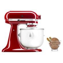 Ice Cream Maker Attachment - White