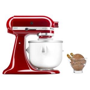 KitchenaidKitchenAid Ice Cream Maker Attachment - White
