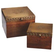 Hinged Lid Box set/2