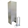 Island Hood Chimney Extension Kit (9-11ft) for vented hoods