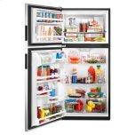 Amana 30-Inch Amana® Top-Freezer Refrigerator With Glass Shelves - Black