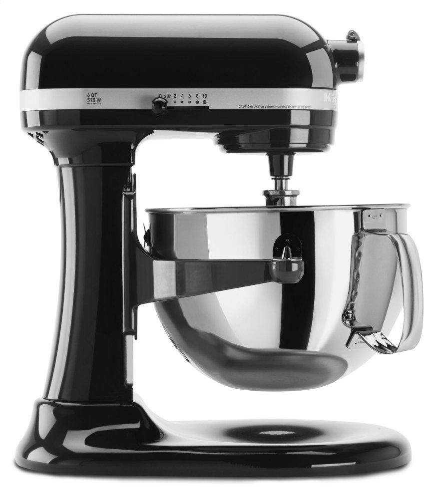 Pro 600 Series 6 Quart Bowl-Lift Stand Mixer - Onyx Black  ONYX BLACK
