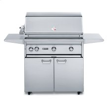 "36"" Free Standing Grill with ProSear Burner and Rotisserie (L36PSFR-1)"