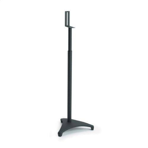 Black Adjustable height for satellite speakers