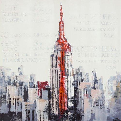 New York in Grey and Orange