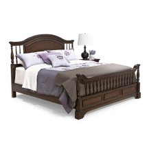 Washington Manor Bannister Bed 5/0 Queen