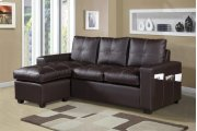 Faux Leather Sofa Sectional Product Image