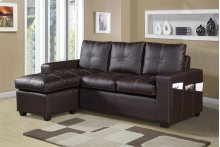 Faux Leather Sofa Sectional