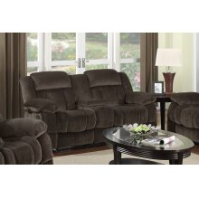 SU-LN660 Collection  Reclining Loveseat with Console