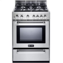 "Stainless Steel 24"" Gas Range"