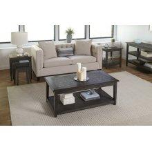 Grey Mosaic Sofa/media Table