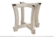 Table Base Ivory Finish