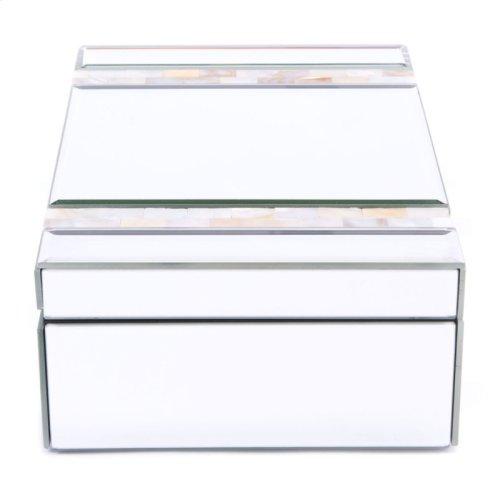 Mop Stripes Mirror Box Mirror & Beige
