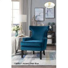 Accent Chair Blue
