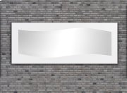 Waves Contemporary Mirror Product Image