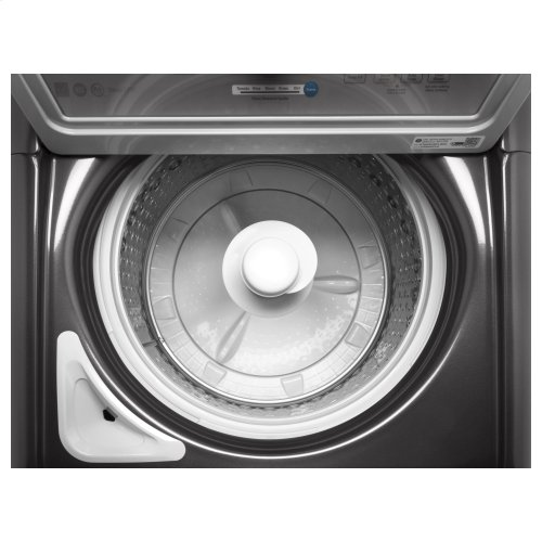 GE® 4 5 cu  ft  Capacity Washer with Stainless Steel Basket