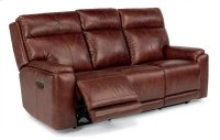 Sienna Leather Power Reclining Sofa with Power Headrests Product Image