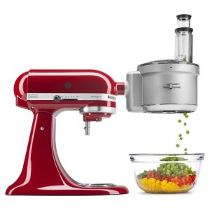 KitchenaidFood Processor with Commercial Style Dicing Kit - Panel Ready
