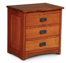 Prairie Mission Deluxe Nightstand with Drawers Product Image