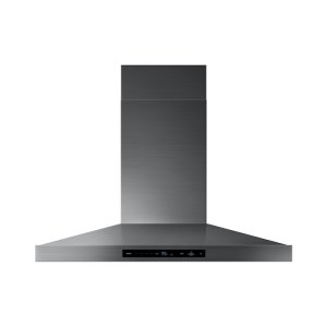 "Samsung Appliances36"" Chef Collection Wall Mount Hood in Matte Black Stainless Steel"