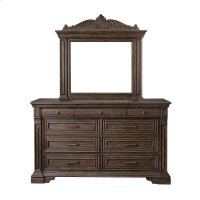 Bedford Heights Dresser Mirror in Estate Brown Product Image