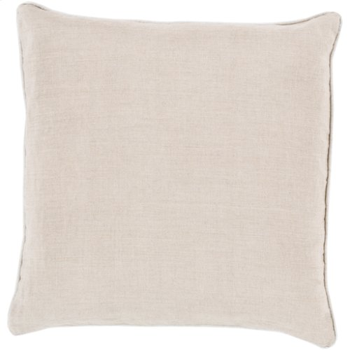 "Linen Piped LP-008 18"" x 18"""