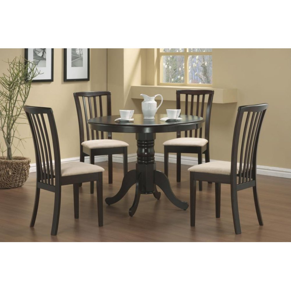 Brannan Casual Cappuccino Dining Five-piece Set