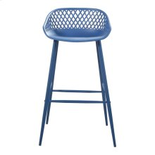 Piazza Outdoor Bar Stool Blue-m2