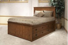 Queen Complete Storage Bed