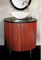 Oval Vanity Cabinet Only Product Image