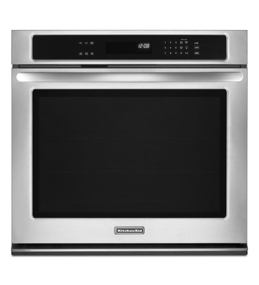 30 Inch Single Wall Oven, Architect® Series II   Stainless Steel