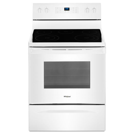 Shop Whirlpool Ranges In Mass Electric Wfe525s0hb