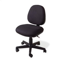 Casual Black Office Chair With Wheels