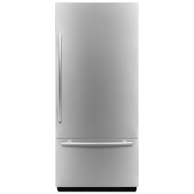 "Euro-Style 36"" Fully Integrated Built-In Bottom-Freezer Right-Hand Door Swing Panel-Kit"