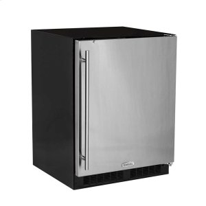 Marvel24-In Low Profile Built-In All Refrigerator With Maxstore Bin with Door Style - Stainless Steel, Door Swing - Right