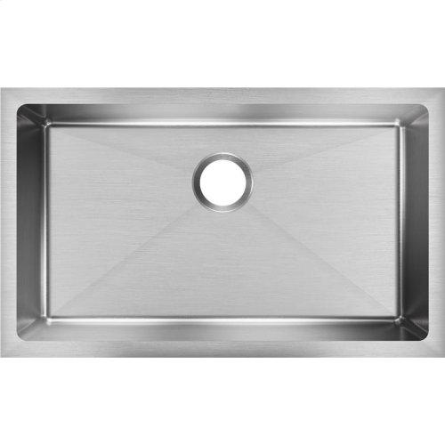 """Elkay Crosstown 16 Gauge Stainless Steel 30-1/2"""" x 18-1/2"""" x 8"""", Single Bowl Undermount Sink"""