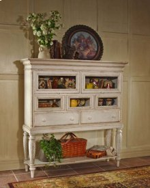 Wilshire Sideboard Cabinet Anitque White