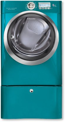 Electric Front Load Dryer with Wave-Touch® Controls Featuring Perfect Steam