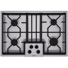 "30"" Gas Cooktop 300 Series - Stainless Steel"