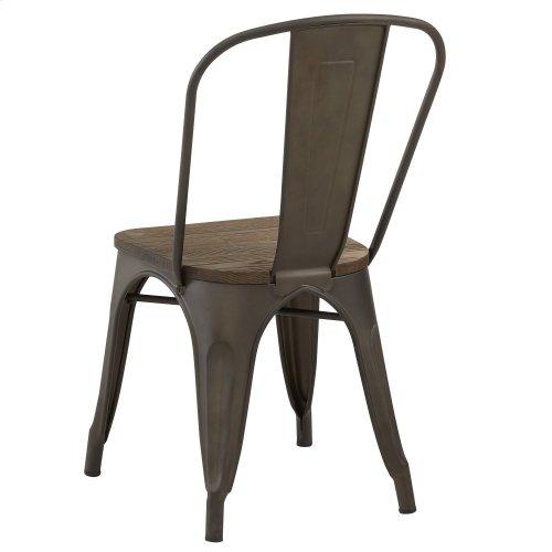 Modus Side Chair in Gunmetal, 4pk