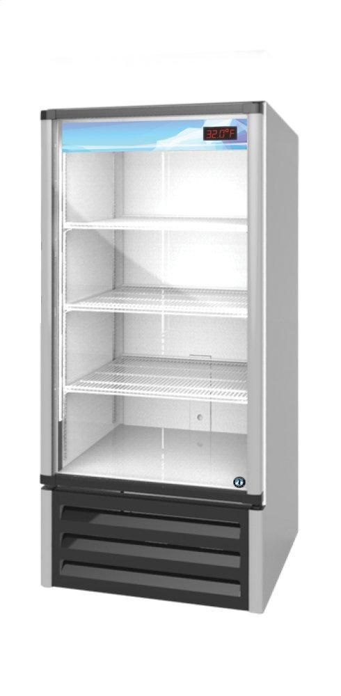RM-10, Refrigerator, Single Section Glass Door Merchandiser