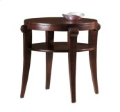 Metropolis Round End Table