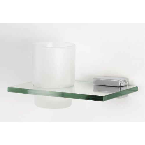 Cube Tumbler Holder A6570 - Polished Chrome