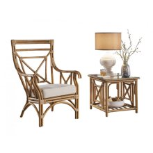 Plantation Bay 2 PC Occasional Set w/cushion
